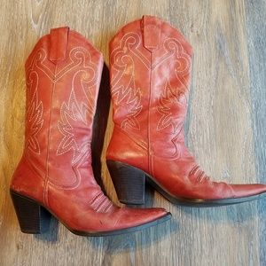 Red Dumond Boots
